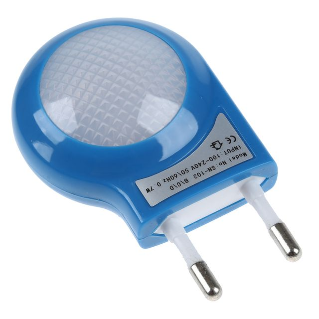 NFLC- Blue LED Sensor Night Lamp with 0.7W Low Power Plug