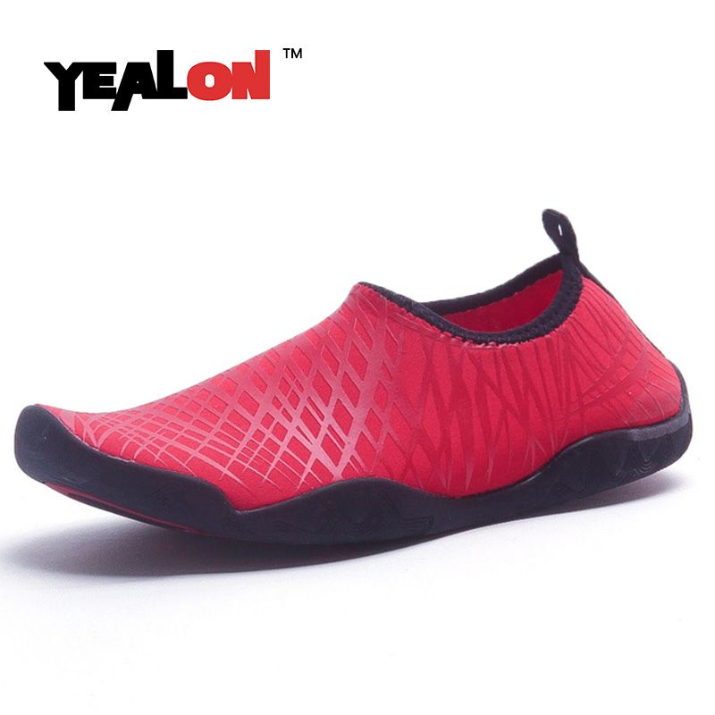 YEALON New Beach Water Shoes Aqua Shoes Water Men Water Shoes For Women Outdoor Aqua Shoes Sport Sneakers Women Krasovki Tenisky