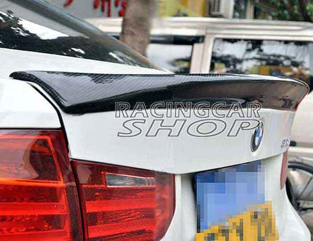 CSL Style Real Carbon Fiber trunk spoiler wing for BMW F30 3-series 320 328 335 2012UP B121