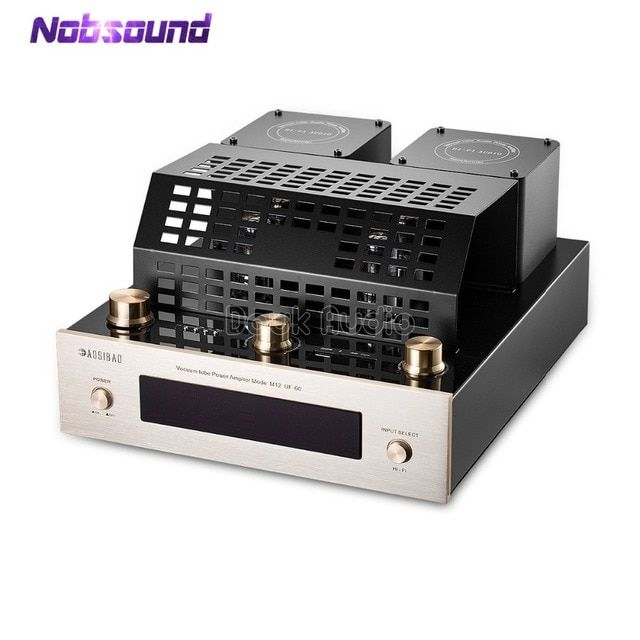 Nobsound Bluetooth 4.0 HiFi Vacuum Tube Amplifier Stereo Class AB High-power Audio Amp Support USB/SD Card Play