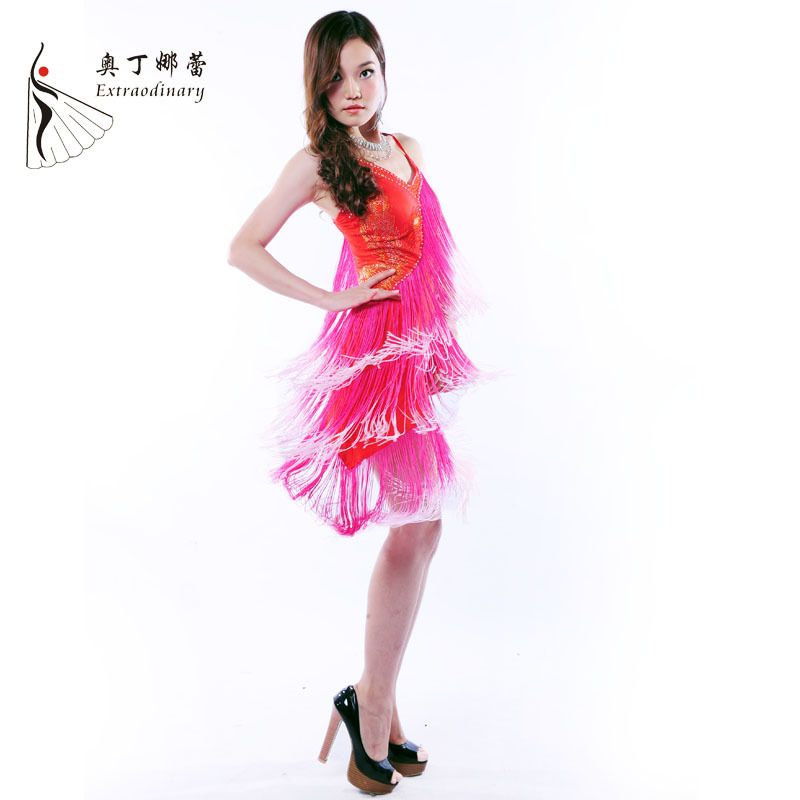 Latin Dance Dress Professional Latin Outfit Samba Dance Latin Salsa Dresses Women Dance Costumes Clothes for Dancing #L00711