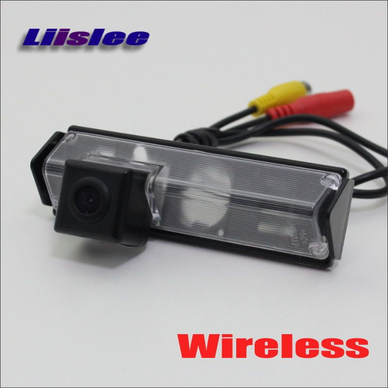 Liislee Wireless Car Parking Camera For Mitsubishi Montero Sport / Reverse Rear Camera / HD Night Vision - DIY Plug & Play