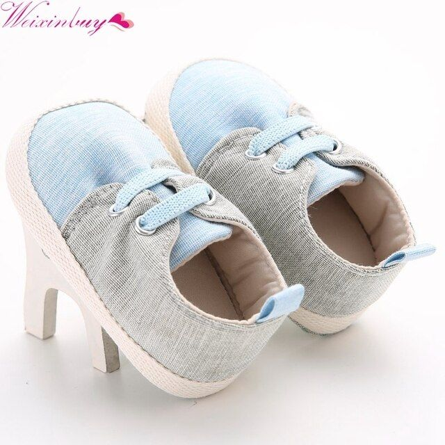 Handsome Classic First Walkers Casual Newborn Baby Boys Kids Soft Soled Shoes Footwear Sneakers