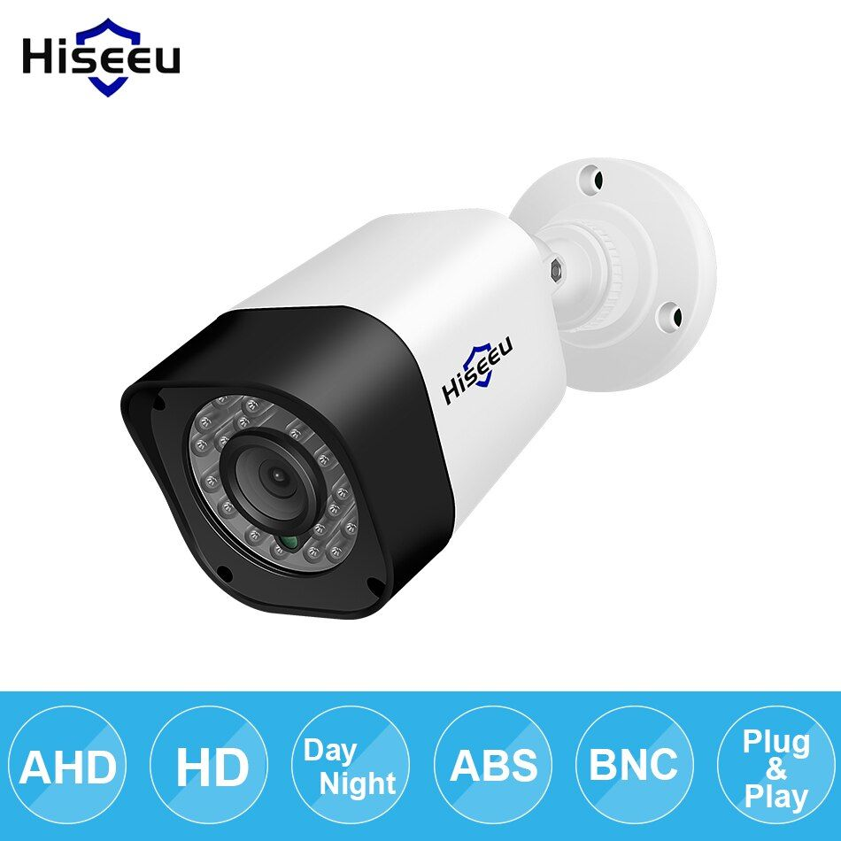 Hiseeu AHD 720P 1080P bullet CCTV Camera waterproof outdoor indoor IR CUT Night Vision HD Security Cam video Surveillance Camera