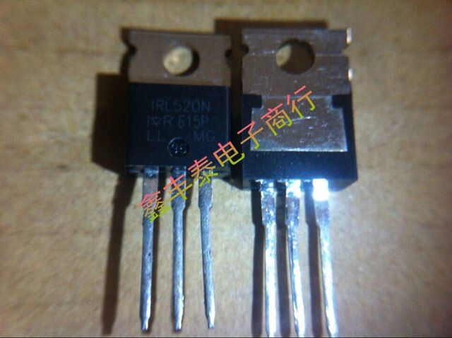 10pcs/lot Free shipping IRL520NPBF IRL520N IRL520 100V10A TO-220