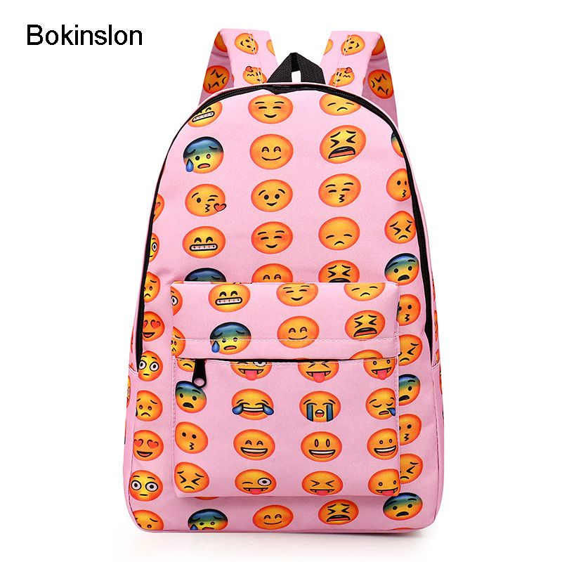 Bokinslon Cute Women Backpack Fashion Small Orecchiette Schoolbag Bag Girl Casual Canvas Backpack Womens Bag
