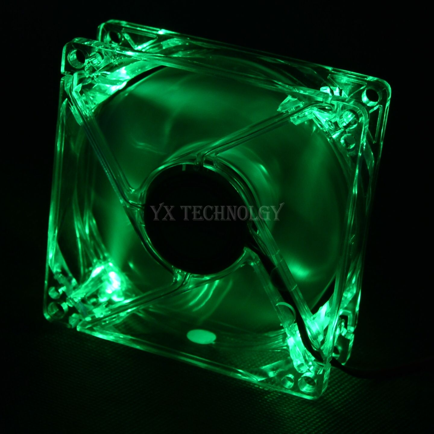 SZYTF  8025 GDT Green Red Bule Four color LED PC Computer Case Brushless Cooling Fan 80mm 8080x25mm 8025S DC 12V 4Pin Cooler