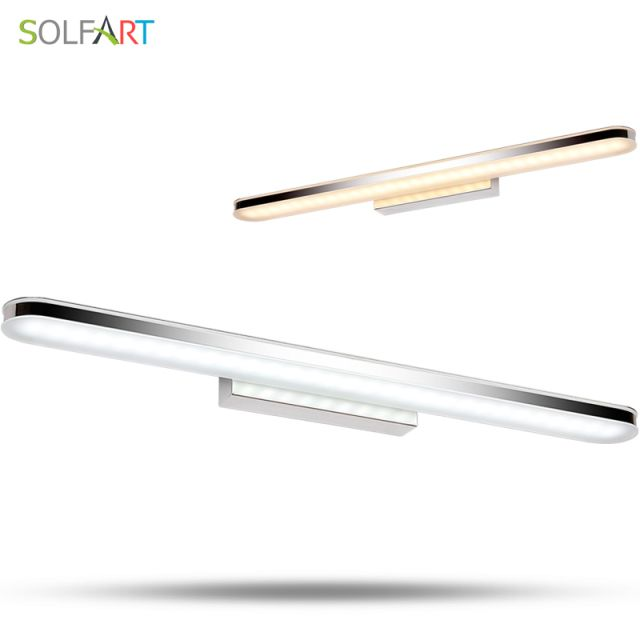 SOLFART sconce wall lamp bathroom light modern luminaria for bedroom bathroom mirror lamp mural vanity light loft wall lamp 6180