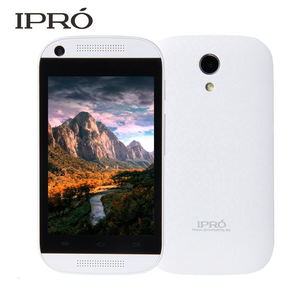 IPRO Brand 2016 Smart Phone MTK6571 2G/3G Smartphone Android 4.4 Mobile Phone Dual Core 3.5 Inch Smartphone Mobile Phone