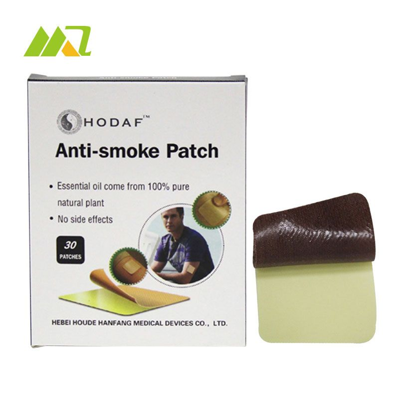 60pcs/ 2box 4*4cm Stop Smoking Patches Health Care Product Smoking Cessation Natural High Quality Stop Smoking For Men