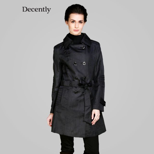 Decently 2014 new Womens Chic Tops jackets hooded windbreaker women coat fashion  9596