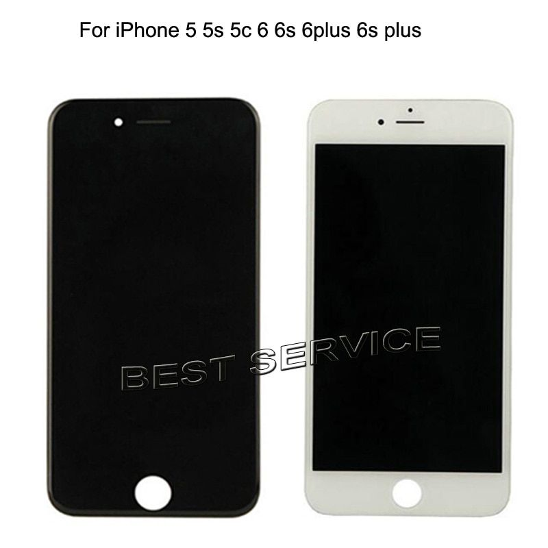 10pcs For Apple For Iphone 5 5s 5c 6 6s 6plus 6s plus for iphone5 for iphone6 Lcd Display Touch Screen Digitizer Assembly