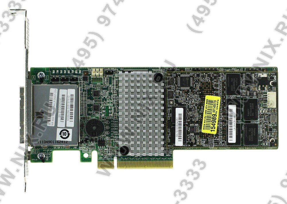 RaidStorage ThinkServer LSI9286CV-8e 6Gb SAS RAID HBA by LSI 1GB Cache Controller Card