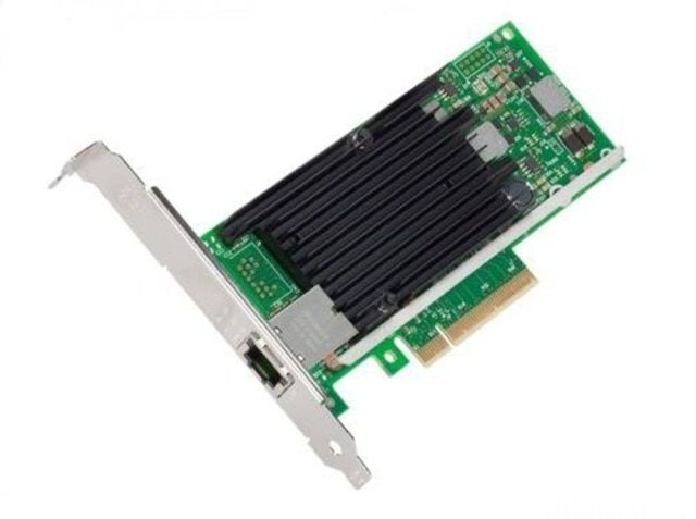 X540-T1 10GbE PCI-E Converged Network Adapter(NIC),Single RJ45 Port