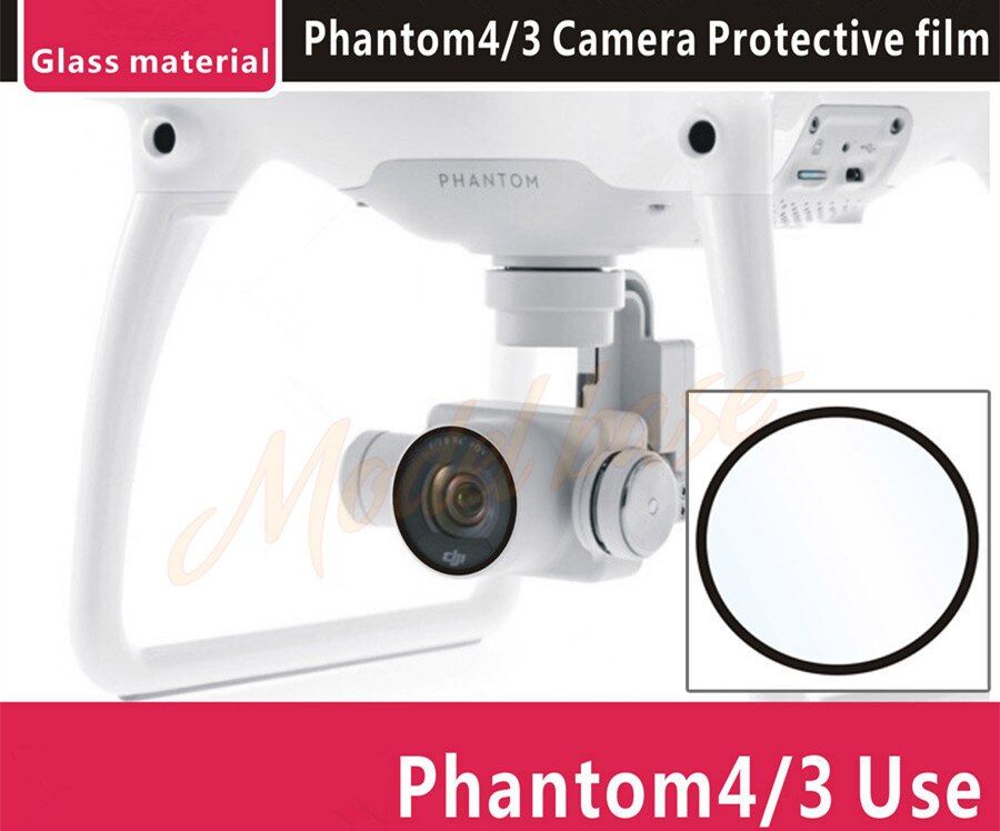 Camera glass protection film, lens UV glass film,Ultra Thin Protective Film For DJI Phantom 3 DJI Phantom 4 Accessories