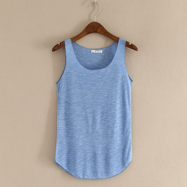 2016 Fitness Tank Top New T Shirt Plus Size Loose Model Women T-shirt Cotton O-neck Slim Tops Fashion Woman Clothes