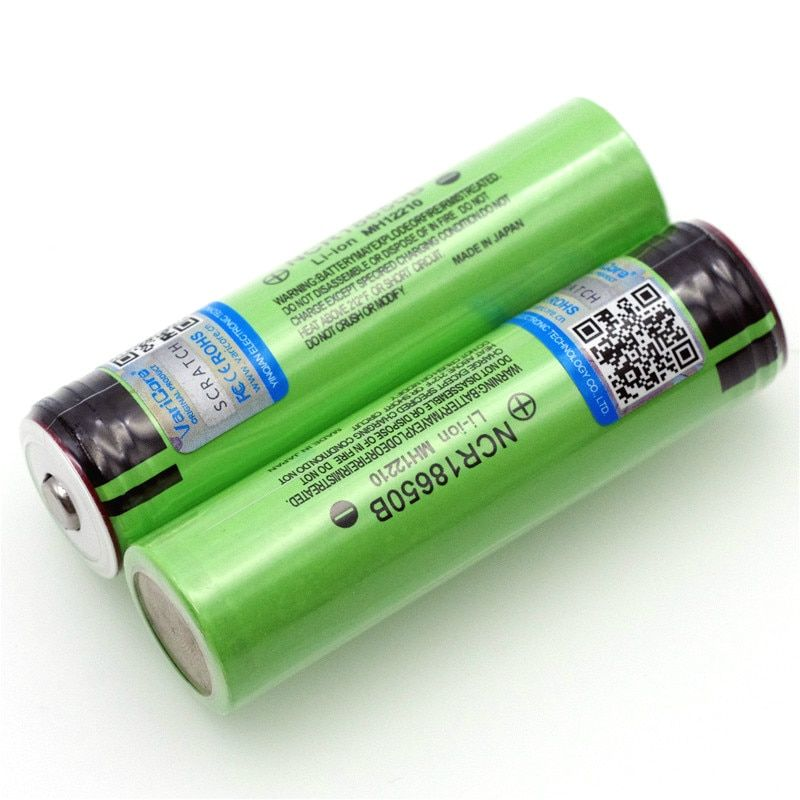 2PCS VariCore  New Original 18650 rechargeable battery 3.7V Li ion bateria 18650 for panasonic ncr18650b 18650 battery