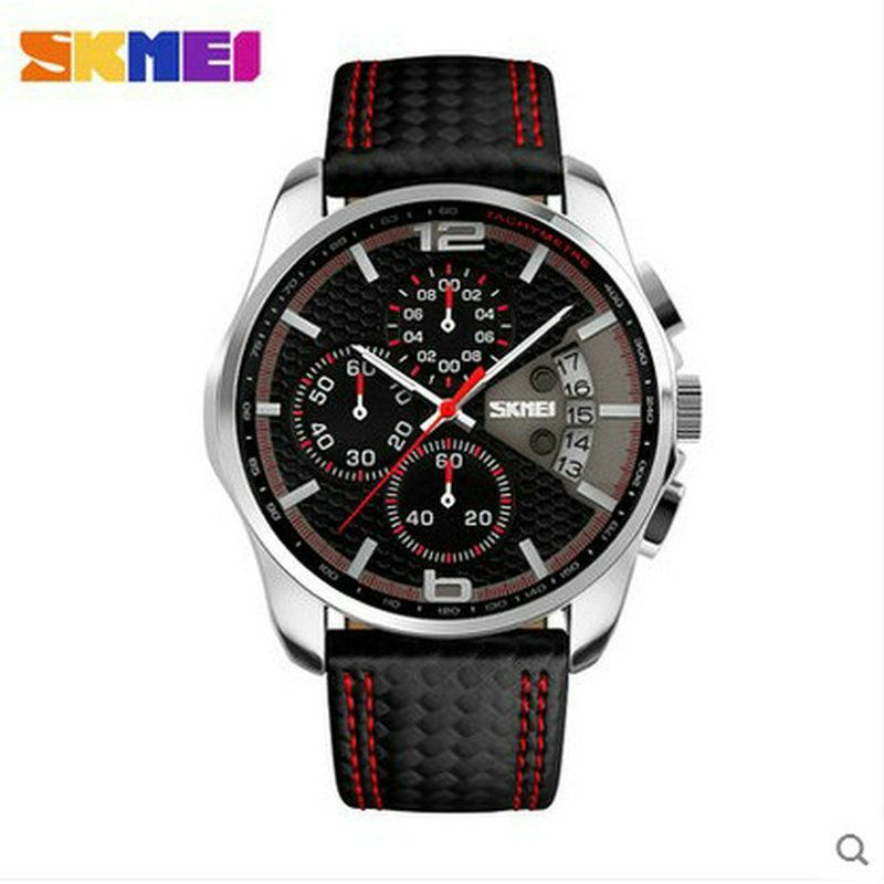 skmei water resistant quartz watch with stainless steel back wathes men women business wristwatches men's Sports classic Fashion