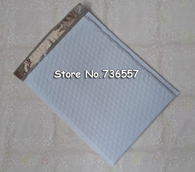 11*13cm White CRAFT Poly Padded Envelopes Mailing Bags Bulle Bubble Mailers Padded Envelopes Sobres Acolchados 100Pcs