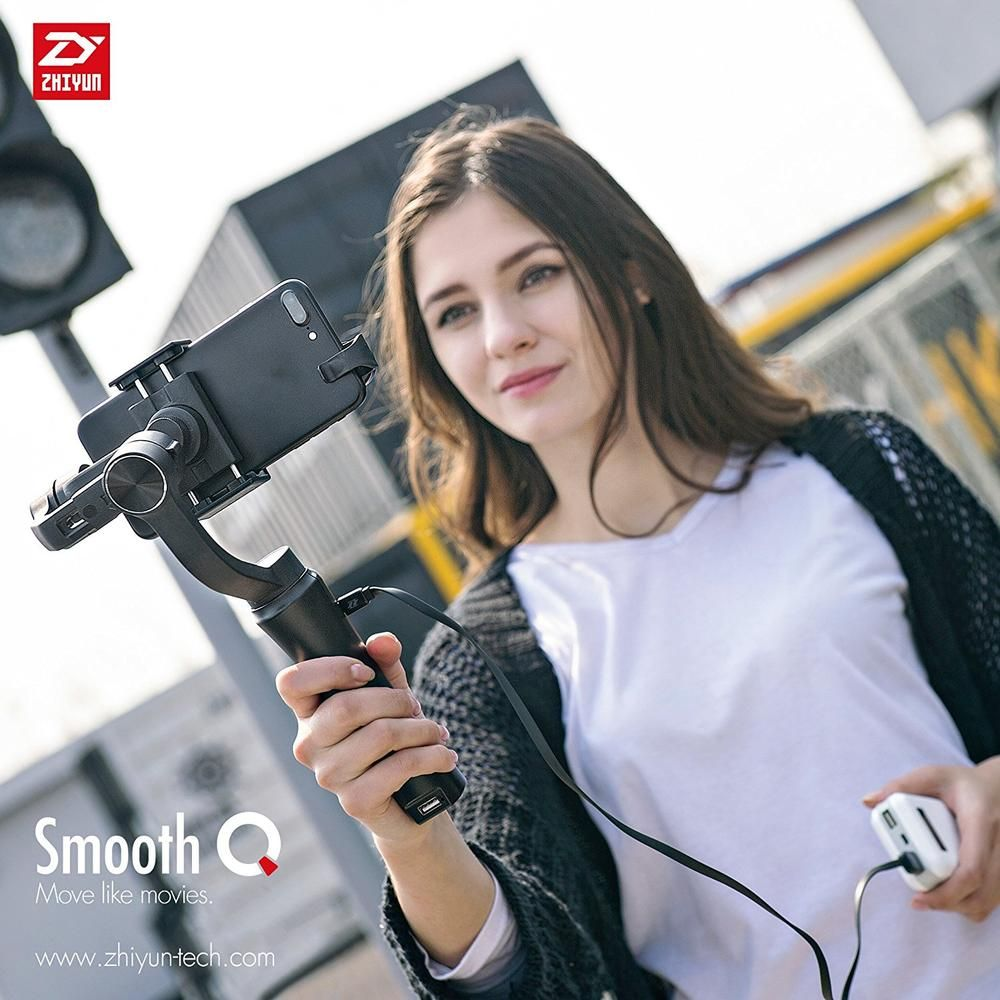 Zhiyun Smooth Q 3-Axis Handheld Smartphone Gimbal Stabilizer for iPhone X 8 7 Samsung S8 HUAWEI