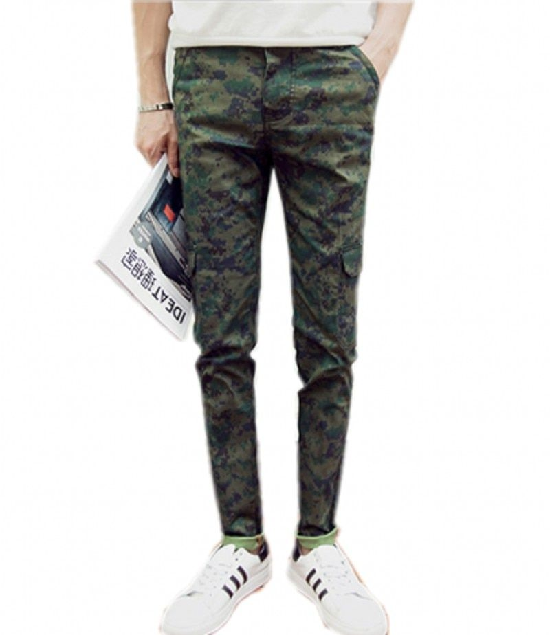 Men's wear jeans > > 2016 foot men jeans camouflage trousers overalls slacks