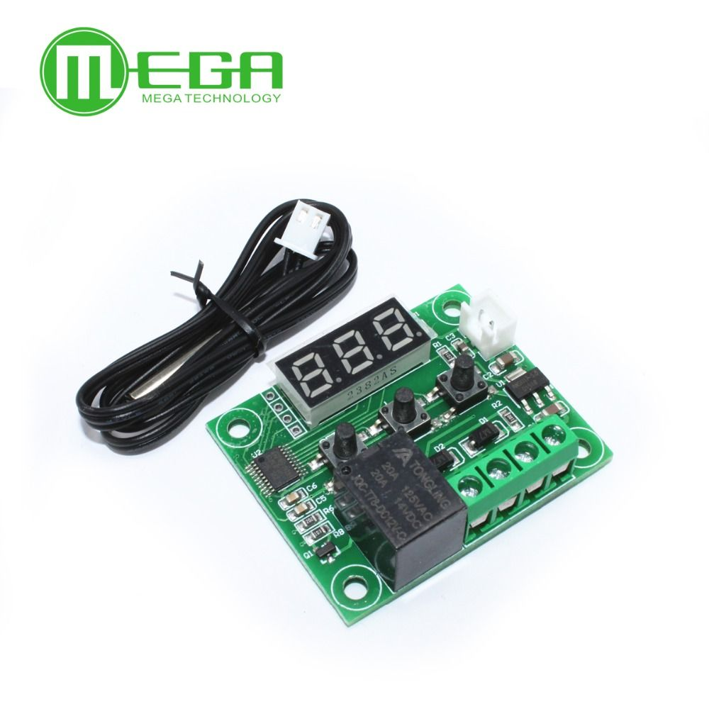 1pcs W1209 Mini thermostat Temperature controller Incubation thermostat temperature control switch