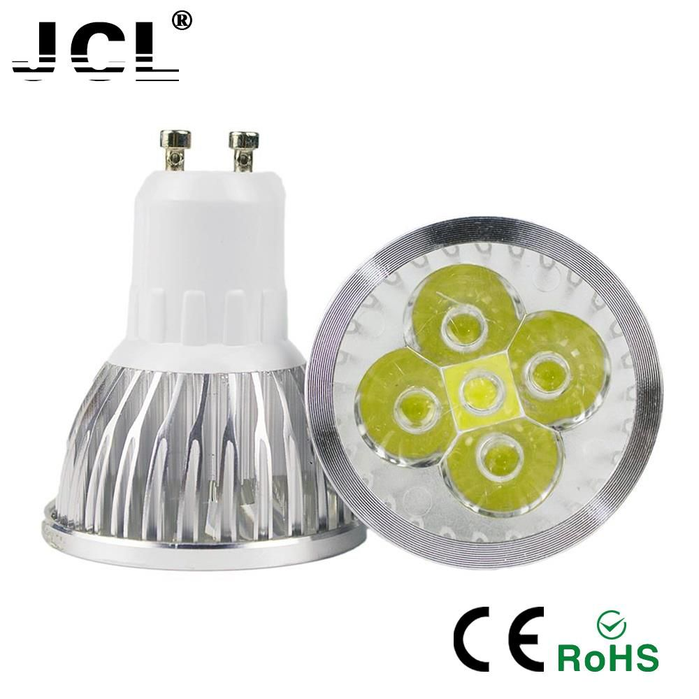 GU10 GU5.3 MR16 E27 E14 Real Power LED lamp lampada led 85-265V 3W 4W 5W LED Spotlight warm cold white LED downlight