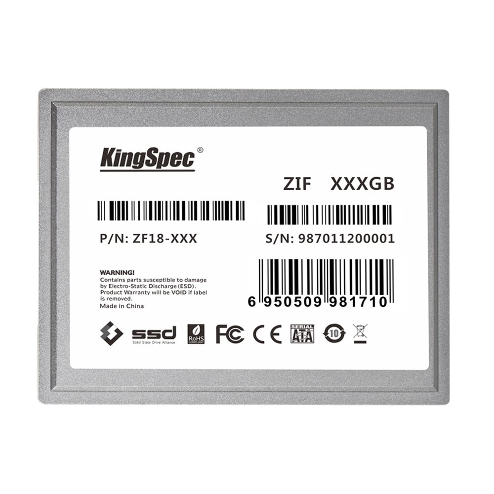 ZF18-128 128GB ZIF Internal SSD 1.8'' IDE 40pin Solid State Drive For HTC Shife X9500 OQO Model 02 ASUS R2E SAMSUNG Q1