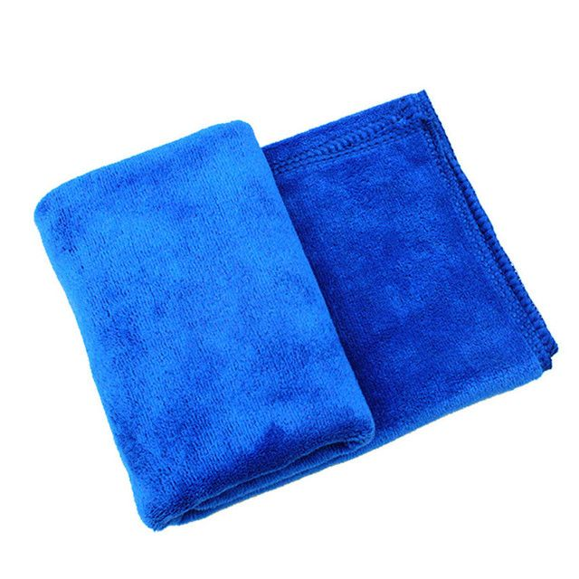 New Arrivals Vehicle 1Pcs 40*60cm Blue Absorbent Wash Cloth Car Auto Care Microfiber Cleaning Towels Cloths