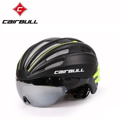 Cairbull Helmets with UV Visor Goggles Cycling VTT EPS MTB Road Bike Bicycle Helmet Aero Mountain  TT Helmet MTB