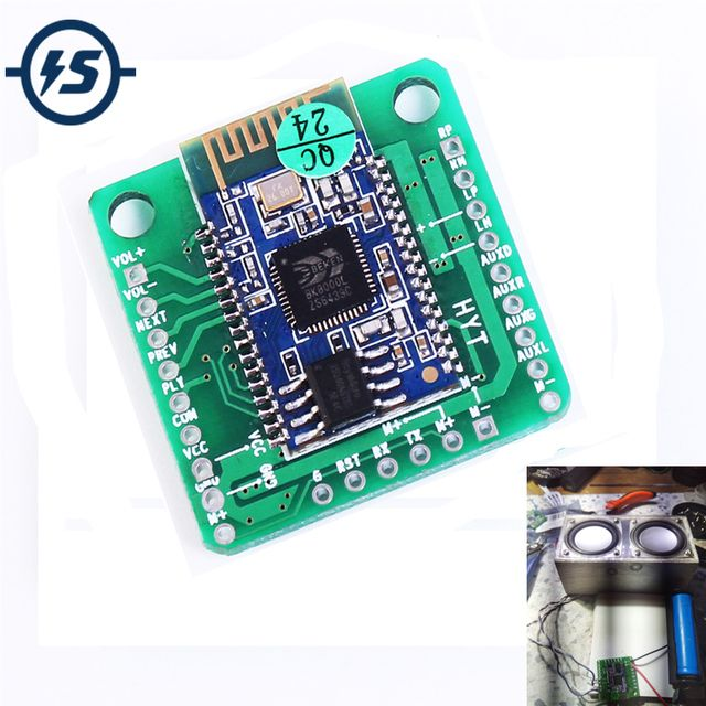 5V 5W Wireless Bluetooth Module BK8000L Stereo Audio Receiver Digital Amplifier Board With Call Function Bluetooth Audio Module