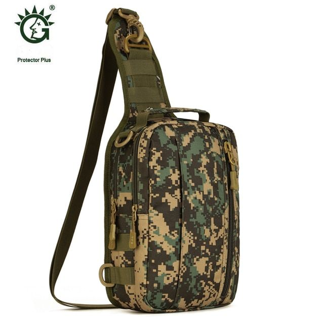 Multi-purpose Outdoor Military Tactical Backpack Pouch Bags For Sports Travel Cycling Hiking Backpacks Chest Messenger Bag