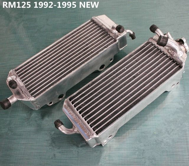 high performance 40mm L&R aluminum alloy radiator for Suzuki RM125 RM 125 2-stroke 1992 - 1995 1993 1994