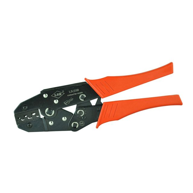LSD LS-03B High quality hand crimping tools for non-insulated open plug-type connector 17-12AWG hand tools