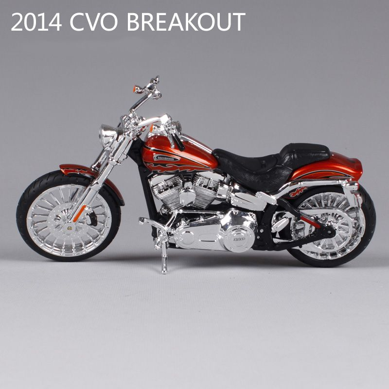 HD CVO Breakout motorcycle model 1:12 scale metal diecast models motor bike miniature race Toy For Gift Collection