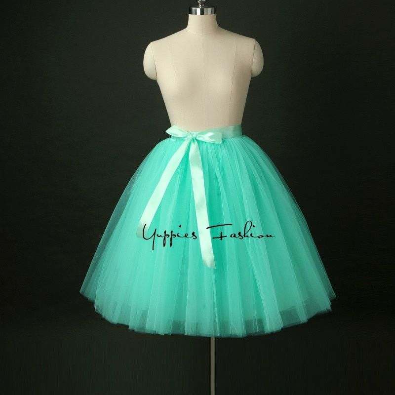 Quality Midi High Waist Women Tulle Skirt American Apparel Tutu Skirts Womens Lolita Petticoat 2017 Summer Faldas Saias Jupe