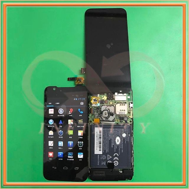 "In Stock 100% Tested NEW 4.5"" Display For ZTE Grand Era U985 V985 LCD Screen With Touch Panel Digitizer+tracking number"