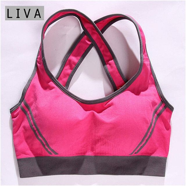 Sexy Vest Multiple Women Padded Tank Tops Bra Good Quality Women Female Padded Tank Top Fitness Workout Bra