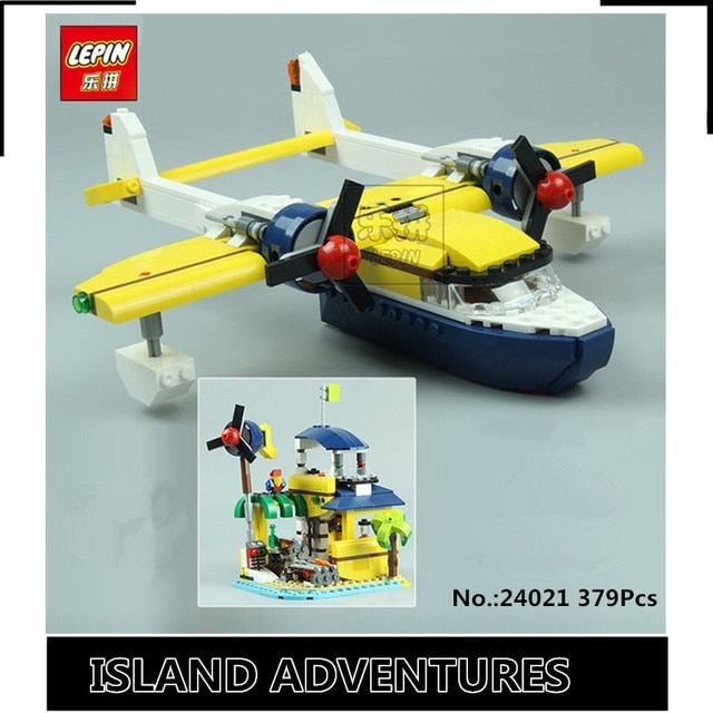 IN STOCK New Lepin 24021 379PCS  The Underwater Explora Ship Set Children Educational Building Blocks Bricks Funny Toys