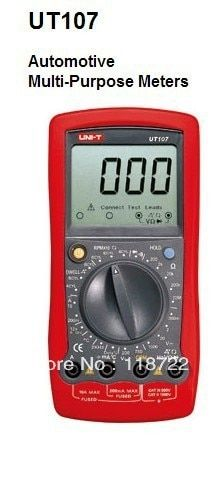 UNI-T UT107 UT-107 Voltage Temp Multimeter Automotive Tester