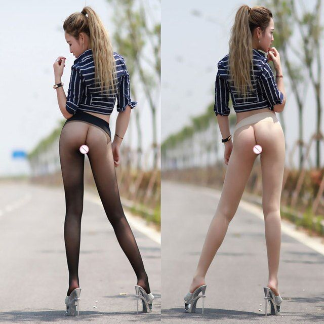 10D Hot sexy Tights Women Seamless See Through Stockings Sexy Underwear Lingerie Stealth Pantyhose Silk Stockings FX1039