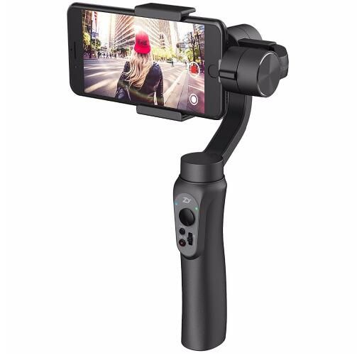 Zhiyun Smooth Q 3-Axis Handheld Gimbal Stabilizer for Smartphone For  IPhone 6 7 8 Plus for Samsung Galaxy S8 S7 for Gopro