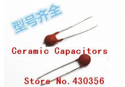 100PCS   Ceramic capacitor  50V  202  2NF