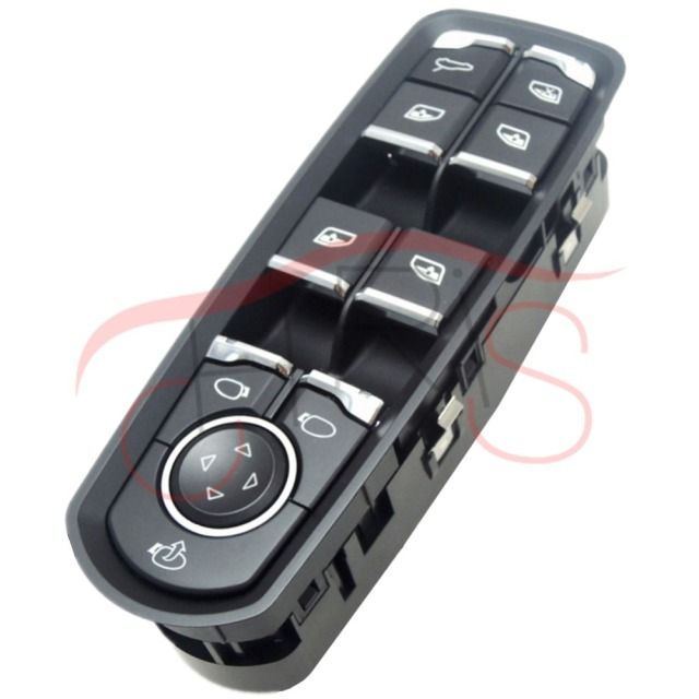 7PP959858MDML Electric Power Window Master Control Door Switch Left Front For Porsche Panamera Cayenne Macan