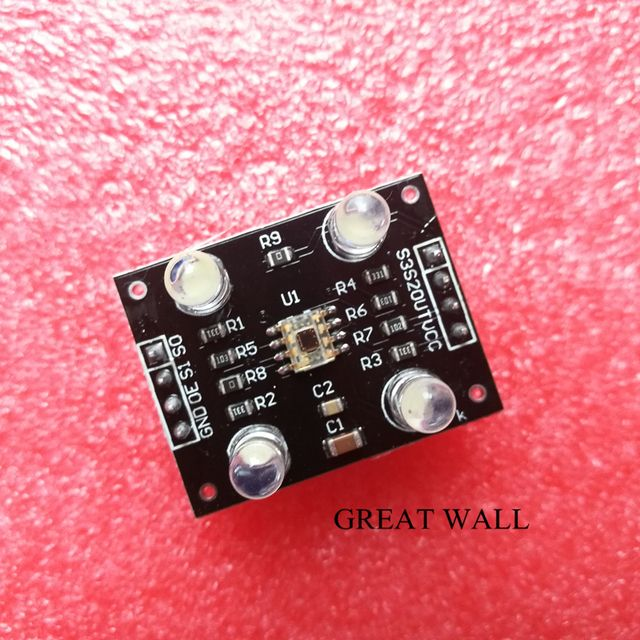 1pcs color recognition sensor TCS230 TCS3200 Color sensor Color recognition module color recognition sensor