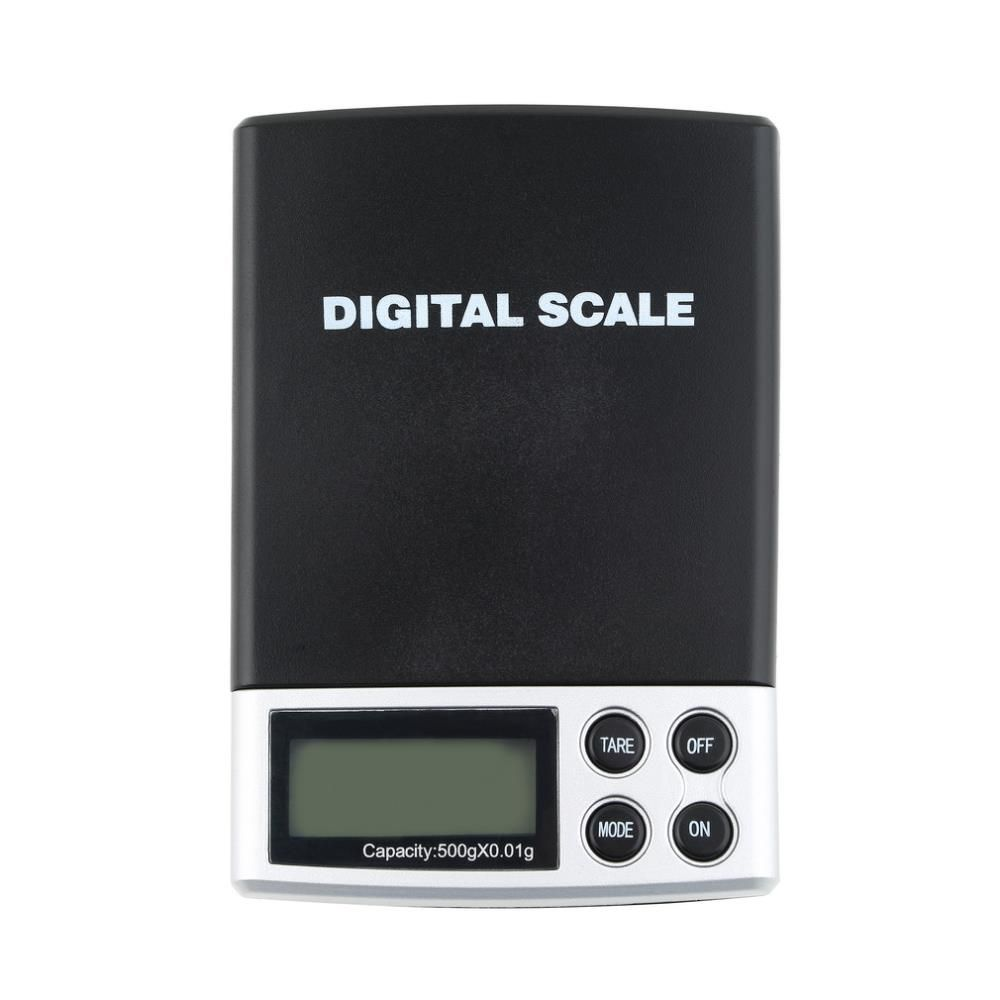 1pcs Hot 500g x 0.01g Jewelry Weight Balance Scale Precision Digital Pocket Scale Worldwide