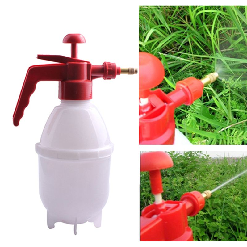 800ML Portable Garden Sprayer Kettle Pressure Plants Flowerpot Watering Bottle Plants Watering Kit Garden Supplies