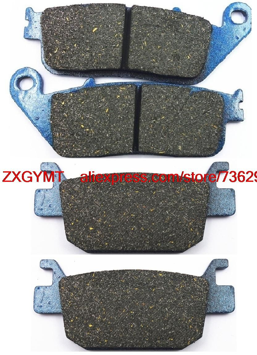 Motorcycle Semi-Metallic Brake Shoe Pads fit for HONDA SH125 SH 125 2013 & up