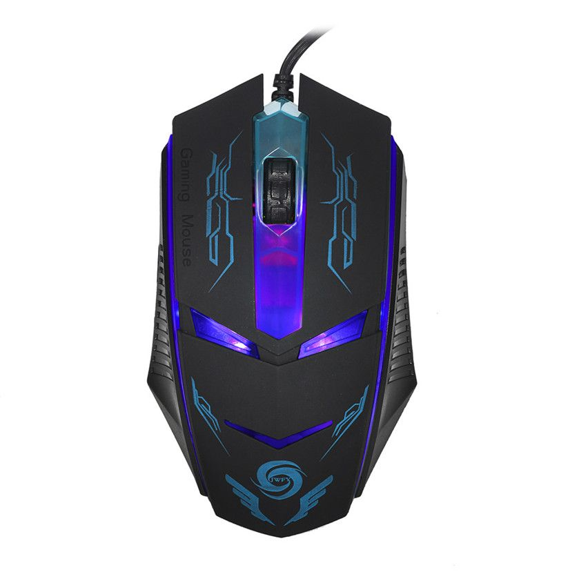 Best Price 3200 DPI LED Optical USB Wired Gaming Mouse Mice For PC Laptop
