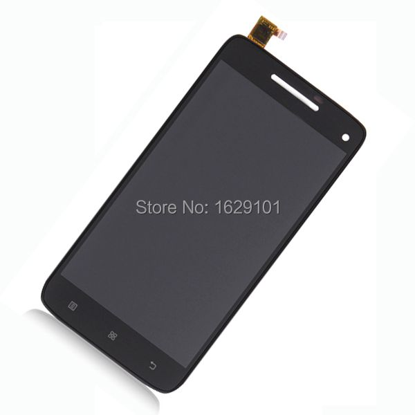 High Quality Working Replacement LCD Display Touch Screen Digitizer Assembly For Lenovo S960 Mobile Sensor Parts Black